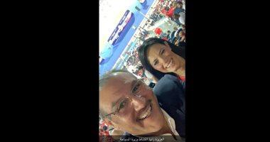 السعودية نيوز |                                              السفير السعودى بالقاهرة فى صورة بصحبة وزيرة التعاون الدولى: جهود مباركة لتعزيز العلاقات بين البلدين