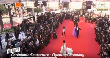 """إقامة الدورة 75 من مهرجان """"كان"""" السينمائى 17 مايو 2022"""