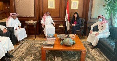 السعودية نيوز |                                              وزيرة التعاون الدولى تبحث تعزيز علاقات التعاون الاقتصادى مع الجانب السعودى