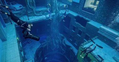 """زاره ويل سميث.. افتتاح أعمق حوض سباحة بالعالم فى دبى بعمق 60 متر """"فيديو وصور"""""""