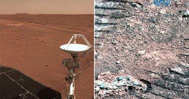 وكالة الفضاء الصينية تنشر 5 صور جديدة لسطح المريخ التقطتها مركبة Zhurong