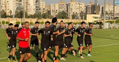 بيكهام وناصر ماهر يشاركان فى تدريبات المنتخب الأولمبي.. صور
