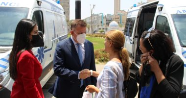 انضمام 5 سيارات إسعاف مجهزة لمستشفيات جامعة عين شمس