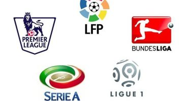 الدوريات الأوروبية الكبرى