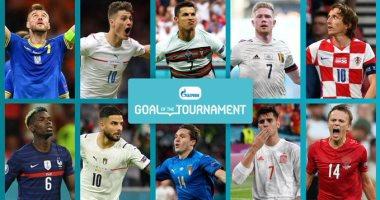 شاهد واستمتع.. أفضل 10 أهداف فى بطولة يورو 2020