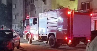 صورة المعمل الجنائى: زيادة الأحمال وراء اندلاع حريق داخل شقة سكنية بالتجمع