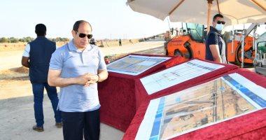 الرئيس السيسى يوجه بتطوير طرق الساحل الشمالى لتتكامل مع المشروعات القومية.. فيديو