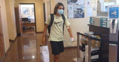 روميرو يخضع للفحص الطبي فى روما قبل الإنتقال إلى لاتسيو