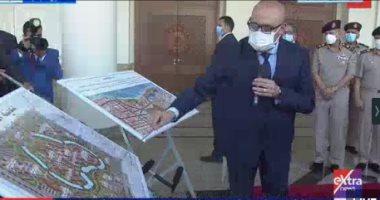 الرئيس السيسى يستمع لشرح حول مشروعات مدينة العلمين الجديدة