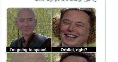 هكذا سخر إيلون ماسك من جيف بيزوس بسبب رحلته إلى حافة الفضاء
