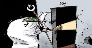 السعودية نيوز |                                              كاريكاتير اليوم.. عيد الأضحى يحاول إضاءه لبنان وسط أزمة سياسية واقتصادية طاحنة