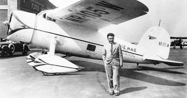 """أول طيار يحلق منفردا فى العالم.. حكاية رحلة """"ويلى وست"""" لمدة 8 أيام"""
