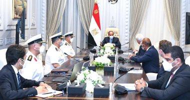 الرئيس السيسي يستقبل مالك مجموعات لورسن الألمانية العالمية للصناعات البحرية