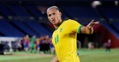 البرازيل تقسو علي ألمانيا بثلاثية في الشوط الأول بأولمبياد طوكيو.. فيديو