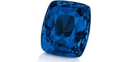 بيع حجر ياقوت كشمير أزرق نادر بـ2.7 مليون يورو فى مزاد علنى