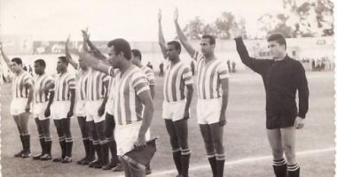 """قبل مباراة مصر وإسبانيا.. شاهد أول مباراة للفراعنة فى الأولمبياد """"صور"""""""