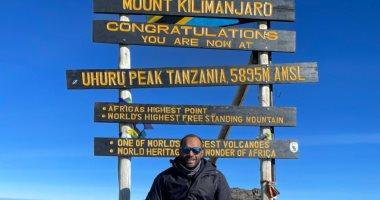 مهندس ينجح فى تسلق اعلى جبل فى افريقيا
