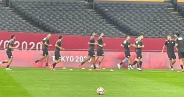 انطلاق مباراة منتخب مصر الأوليمبى وإسبانيا بأوليمبياد طوكيو