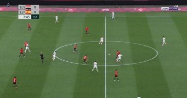 """30 دقيقة.. """"القائم"""" يحافظ على التعادل السلبى بين مصر و إسبانيا بأوليمبياد طوكيو"""