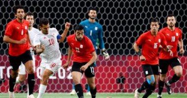 منتخب مصر الاولمبي ضد اسبانيا