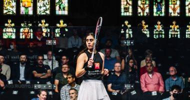 نور الشربيني تواصل الدفاع عن اللقب وتتأهل لنهائى بطولة العالم للاسكواش