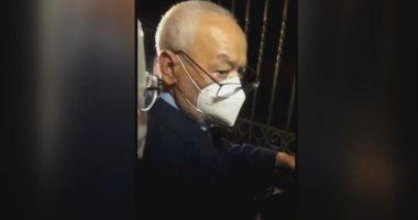 راشد الغنوشى أمام البرلمان التونسى