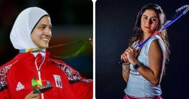 لاعبات مصر العالميات