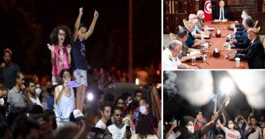 الأحداث في تونس