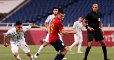 مجموعة مصر.. إسبانيا تتقدم على الأرجنتين 1-0 بعد 66 دقيقة