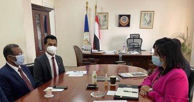 تفاصيل لقاء غادة شلبي بسفير سيريلانكا بالقاهرة لمناقشة تعزيز التعاون بمجال السياحة