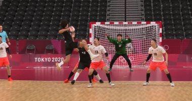 منتخب مصر لليد يقترب من مواجهة ألمانيا في ربع نهائي الأولمبياد