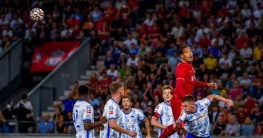 صورة أهداف الخميس.. ليفربول يسقط وديا أمام هيرتا برلين والأهلي يتخطى أسوان بثلاثية