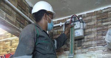محافظ الوادى الجديد: توصيل خدمة الغاز الطبيعى لــ 1160 منزلا بالخارجة.. صور