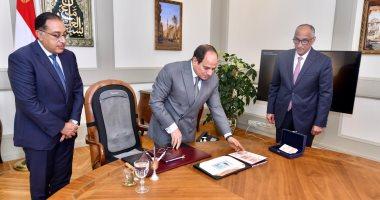 """أخبار مصر.. الرئيس السيسي يوجه بتعزيز جهود مجابهة التحديات ودعم """"التمويل العقارى"""""""