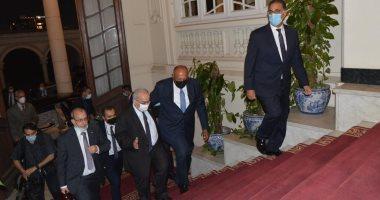 سامح شكرى يبحث مع وزير خارجية الجزائر قضية سد النهضة والوضع فى ليبيا