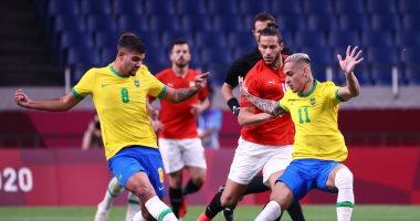 منتخب مصر الاوليمبي والبرازيل