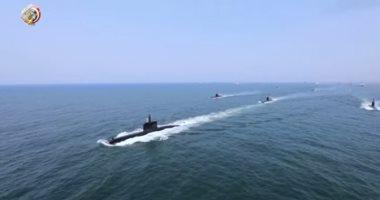 وصول الغواصة s 44 لقاعدة الإسكندرية