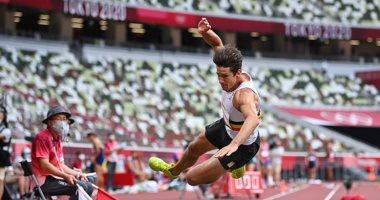 """صورة أصعب لحظات طوكيو 2020.. بطل أوروبا فى الوثب يغادر الأولمبياد على كرسي متحرك """"صور وفيديو"""""""