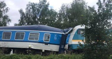 ارتفاع ضحايا حادث تصادم قطارين فى التشيك لـ 3 قتلى