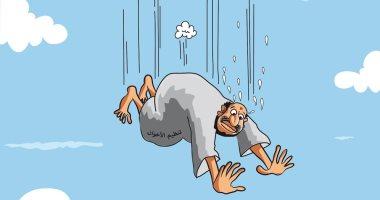 السعودية نيوز |                                              تنظيم الاخوان الإرهابي يواصل السقوط فى كاريكاتير سعودى