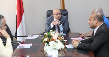 محافظ بنى سويف يزور مقر جهاز التنمية الجديد بالمحافظة