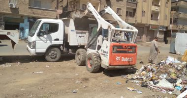 محافظة الجيزة ترفع 113 ألف طن مخلفات وقمامة خلال أسبوعين