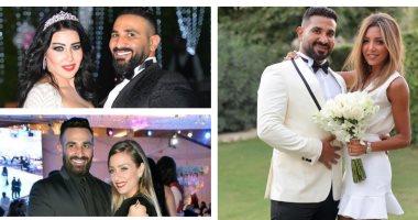 آخرهن علياء بسيونى.. 4 زيجات فى حياة المطرب أحمد سعد - اليوم السابع