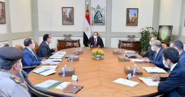 الرئيس السيسي يوجه بتعزيز جهود تطوير قطاع التعدين فى مصر