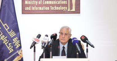 عدلى منصور: جامعة مصر للمعلوماتية تمثل المستقبل وتواكب الاتجاه العالمى بتخصصاتها