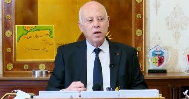قيس سعيد: ما حدث فى تونس ليس انقلابا.. وتحركت لحماية البلاد من خطر داهم