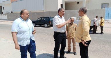 """جهاز """"الصالحية الجديدة"""" يشن حملة لضبط مخالفات الصرف الصناعي بالمنشآت الصناعية"""