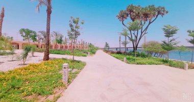10 صور ترصد الطفرة العمرانية بمدينة أسوان الجديدة جنوب مصر