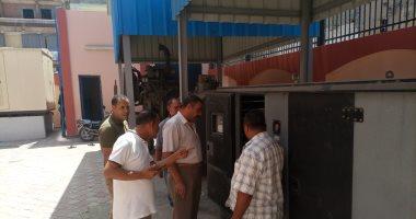جولات تفقدية لإدارة الأزمات بالبحيرة لمتابعة جاهزية محطات الصرف