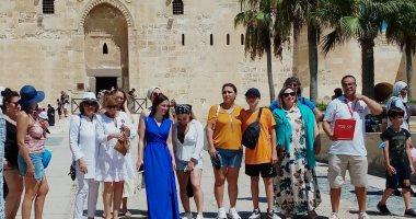 عودة السياحة البحرية.. استقبال سياح قادمين عبر ميناء الإسكندرية